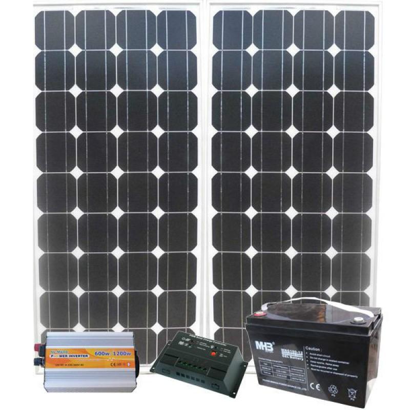 Солнечная электростанция для Дачи 31/9кВт*ч в мес.