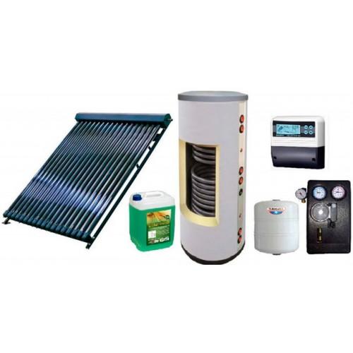 Готовые системы солнечного отопления и ГВС
