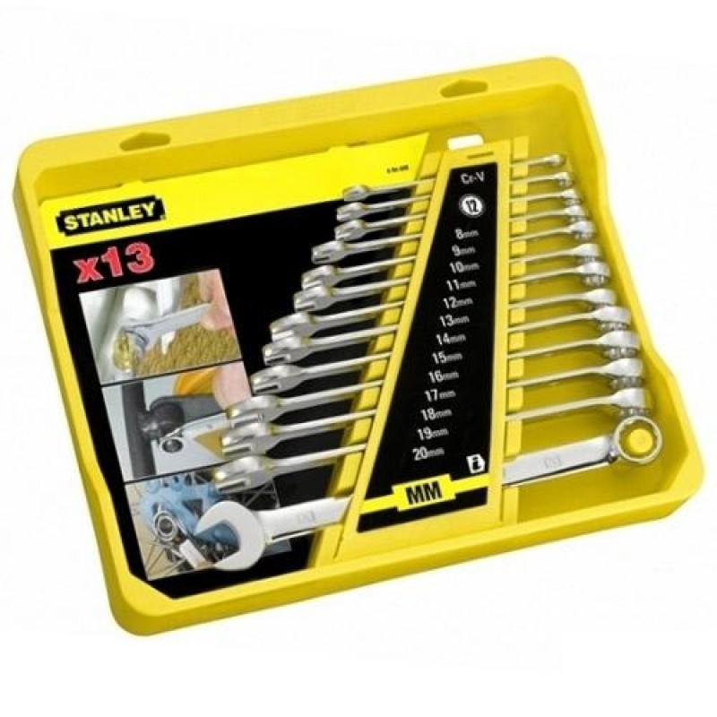Набор ключей комбинированных  STANLEY   4-94-648
