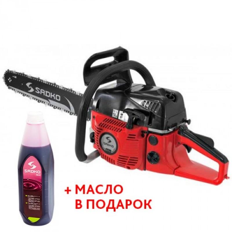 Бензопила Sadko GCS-510E PRO
