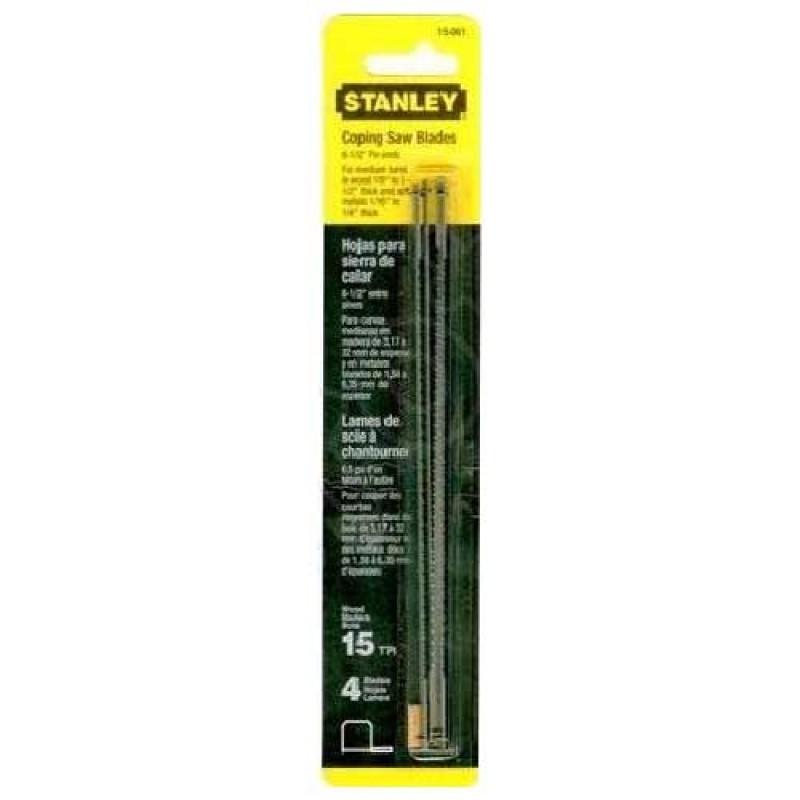 Пилки запасные для лобзика  STANLEY   0-15-061