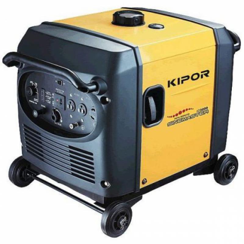 Инверторный бесшумный бензогенератор KIPOR IG3000