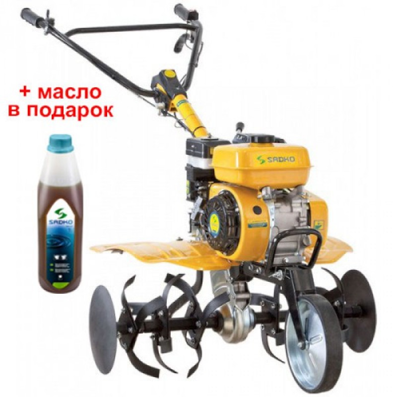 Мотоблок бензиновый Sadko M-500PRO без колёс